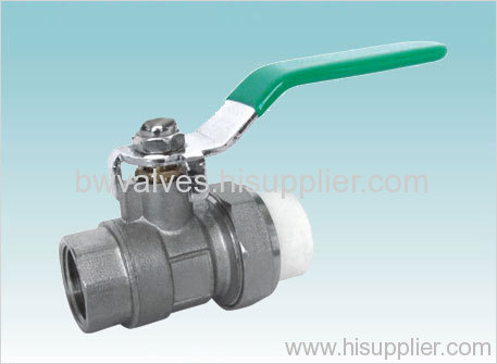 FF brass ball valve