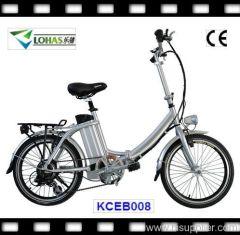 "20"" folding electric bicycle"