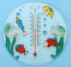 suction cup window thermometers