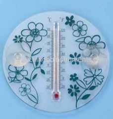 china plastic window thermometer