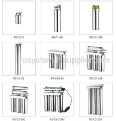 stainless steel RO system, reverse osmosis, RO system, RO water treatment, RO water purifier, water filter