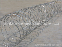 razor wire mesh fencing