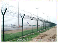 airport fence wire