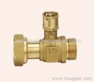 Brass lockable ball valves