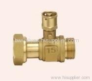 Brass lockable ball valves