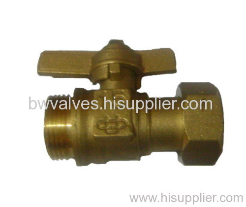 Brass Ball Valve Butterfly Handle