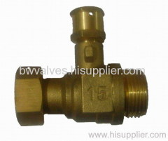 brass ball valve MxF