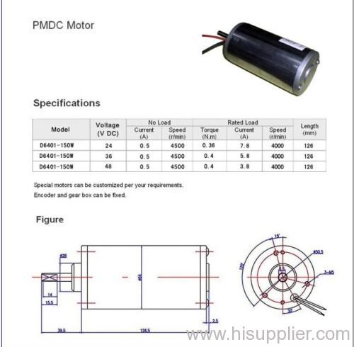 126mm PMDC Motor