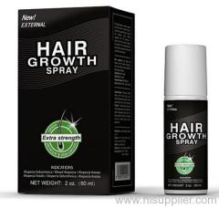 Hair loss regrowth spray