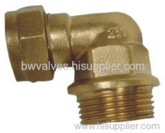 Tube brass Fitting