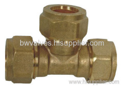 brass fitting with nickel plated