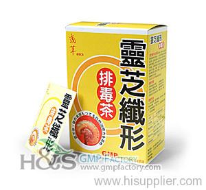 Lingzhi Detox tea slimming tea OEM