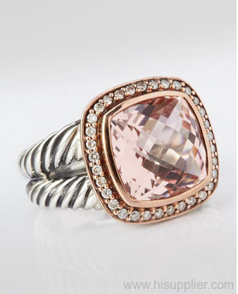Sterling silver inspired jewelry from china manufacturer for David yurman inspired jewelry rings