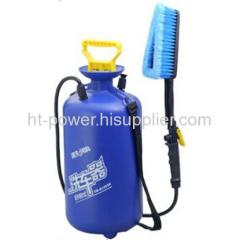 Manually portable car washer