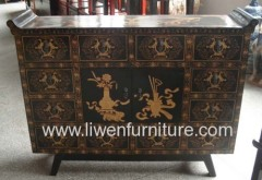 antique painted furniture classical cabinet