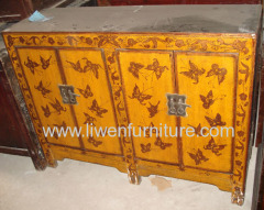 Chinese reproduction painted sideboard