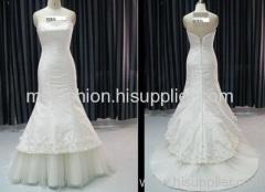 New Elegant Sexy Bride Wedding Dress