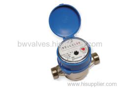 Single Jet Dry Type Vane Wheel Water Meters