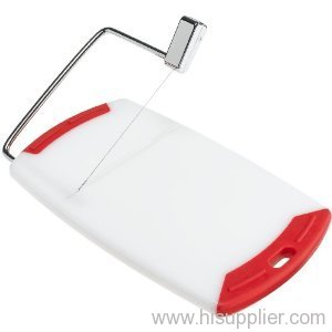 PP Cheese Cutting Board with Slicer