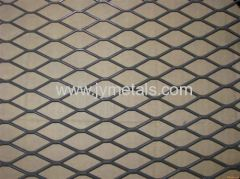 pvc coated expanded metal fence for rail industry