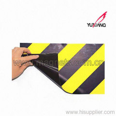 Rubber Magnetic Sign for Warning and Alert