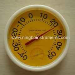 garden thermometer; garden hygrometer