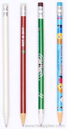 promotional pencil shaped ball pen