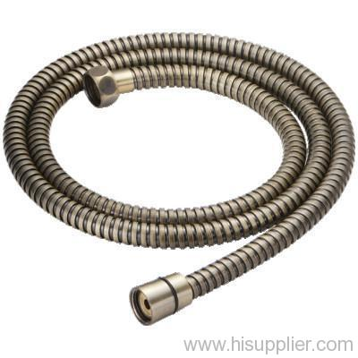 Stainless steel bronze plated shower hose