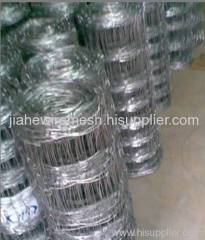 galvanized grass field fencing