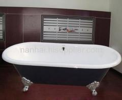 SLIPPER ENAMEL BATHTUB