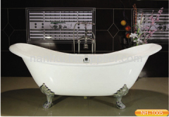 double ended slipper bathtub