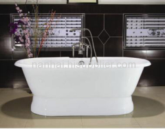 pedestal bathtub