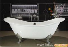 popular double slipper bathtub
