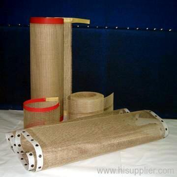 Teflon mesh conveyor belt