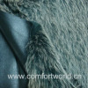 Fake Fur With Suede Fabric