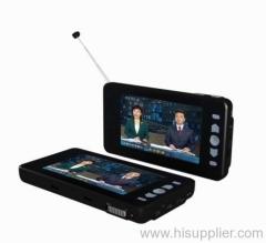 7 Inch Portable Digital TV|Portable DVB-T TV