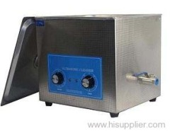 Mechanical Timing & Heating Textile Industrial Ultrasonic Cleaning Machine