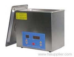 Small Digital Controlled Dental Clinic Ultrasonic Cleaner (Timing & Heating Functions)