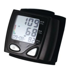 Wrist Type Automatic Digital Blood Pressure Monitor