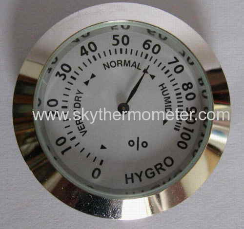 zinc alloy hygrometers thermometer
