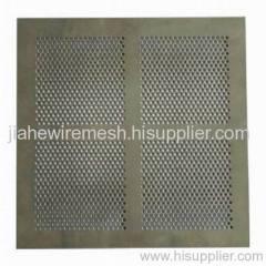 perforated metal-mesh
