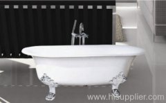Double Ended Cast Iron Bathtub