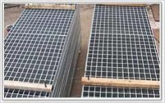 I shaped Steel Grating