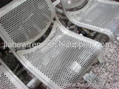 Aluminum metal screen