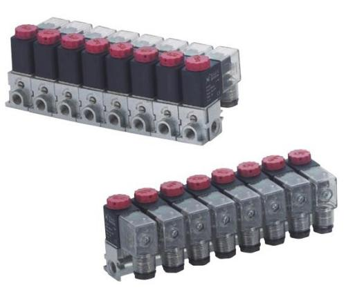 2 way or 3 way Valve group series for compressed air