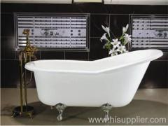 Single Ended Slipper Claw Foot Tub