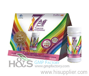 7 color diet pills oem