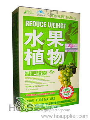Fruit Plant diet pill OEM, bottle package