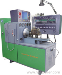 Screen display oil quantity type test bench