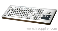 Desktop Stainless Keyboard with Touchpad